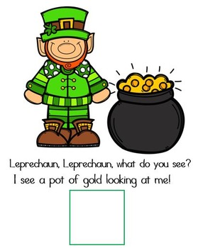 Leprechaun Leprechaun What Do You See? A St. Patrick's Day Adapted Book