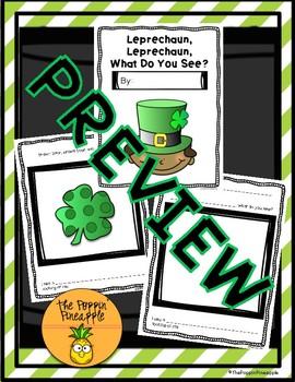 Leprechaun, Leprechaun, What Do You See? (Write an Original Class Story)