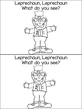 Leprechaun, Leprechaun, What do you see?