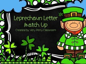 Leprechaun Letter Match Up