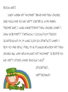 Leprechaun Letter Writing