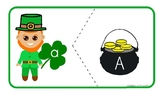 Leprechaun Letters Matching - St. Patrick's Day