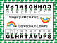 Leprechaun Letters:  NO PREP Roll and Remove Game
