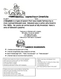 Leprechaun Limerick Teaching Packet