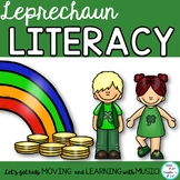 Leprechaun Literacy Activities, Song, Poem, Writing, Games