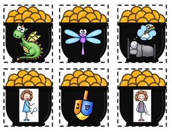 Leprechaun Literacy Centers, Crafts, and Snacks