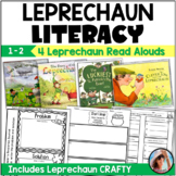 Leprechaun Stories 4 Literacy {Craftivity and Activities for 4 Leprechaun Books}