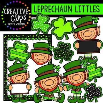 Leprechaun Littles {Creative Clips Digital Clipart}