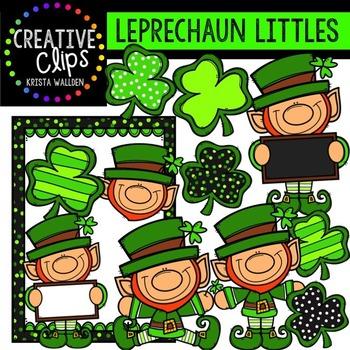 Leprechaun Littles {Creative Clips Digital Clipart}