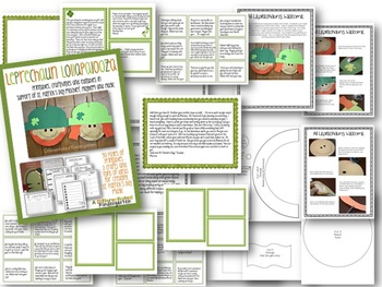 Leprechaun Lollapalooza-St. Patrick's Day Printables, Crafts and Editable Notes