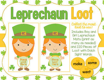 Leprechaun Loot - St. Patrick's Day Sight Words Game - With all 220 Dolch Words!