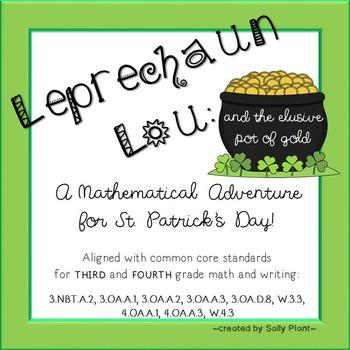 Leprechaun Math and Language Arts Adventure