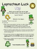 Leprechaun Luck: A Dice Probability Game!