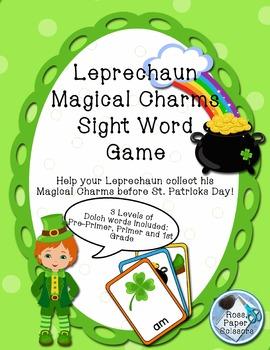 Leprechaun Magic Charms Sight Word Game