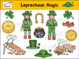 Leprechaun Magic Clip Art