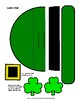 Leprechaun Masks Craft Pattern Pack for Lad and Lady