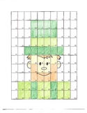 Leprechaun Math Art Activity