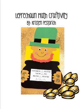 Leprechaun Math Craftivity