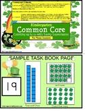 Leprechaun Math Identify & Count to 20 Activity Kindergarten Common Core