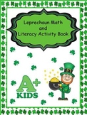 Leprechaun Math and Literacy Activity Book, K-2