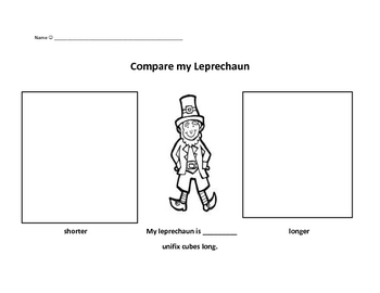 Leprechaun Measuring Sheet