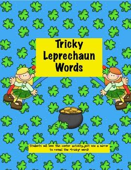 Leprechaun Mirror Words