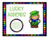 Leprechaun Missing Addend Mats