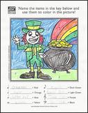 Leprechaun Music Activity Sheet