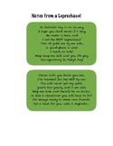 Leprechaun Notes - St. Patrick's Day