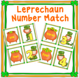 St. Patrick's Day Number Match