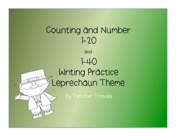 Leprechaun Number Writing to 40