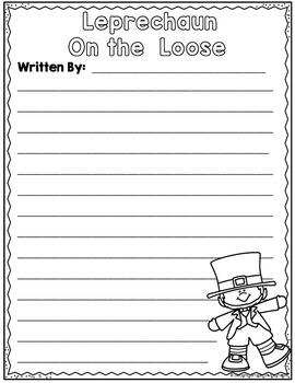 St. Patrick's Day Narrative Writing Unit: Leprechaun on the Loose