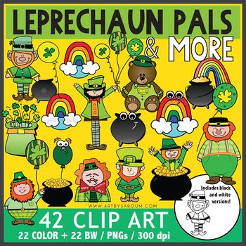 Leprechaun Pals and More Clip Art