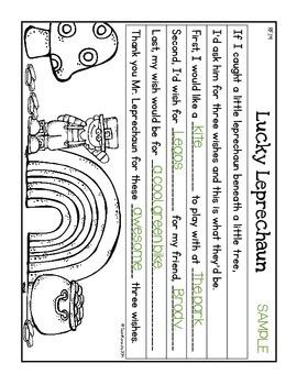 Paragraph Puzzle - March: Lucky Leprechaun