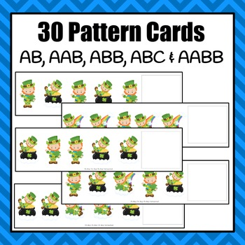 Leprechaun Pattern Cards