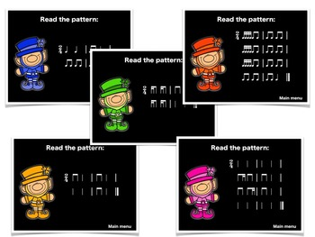 Leprechaun Patterns {A Bundled Set for Rhythm Reading}