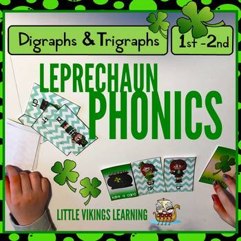 St. Patrick's Day Phonics Game