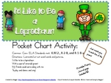 Leprechaun Poem Pocket Chart Activity