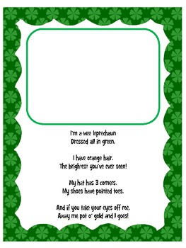 Leprechaun Poem and Visualization