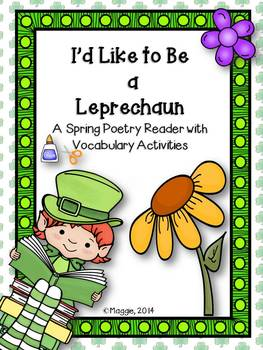 Leprechaun Poetry Reader and Vocabulary Activities