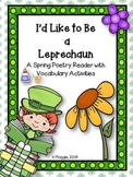 Leprechaun Poetry Reader and Vocabulary Activities