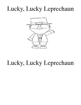 Leprechaun Positional Words