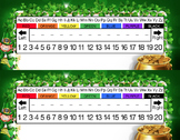 Leprechaun Pot Of Gold Desk Name Tag Plates Set