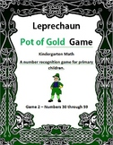 Leprechaun Pot of Gold Game 2 Kindergarten Math