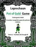 Leprechaun Pot of Gold Game 2 Kindergarten Math