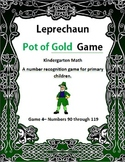 Leprechaun Pot of Gold Game 4 Kindergarten Math