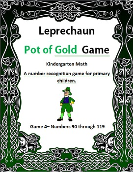 Leprechaun Pot of Gold Game 4 Kindergarten Math