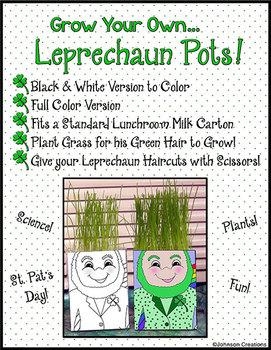 Leprechaun Pots