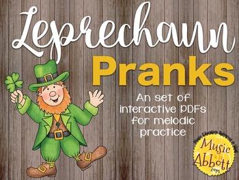 Leprechaun Pranks {A Bundled set of Melodic Games}