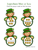 Leprechaun PreK Math Printable Learning Pack